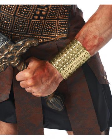 Goldener Gladiator Armreif 10cm