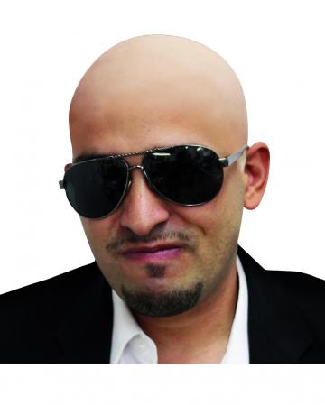 Bald Foil Skin-coloured