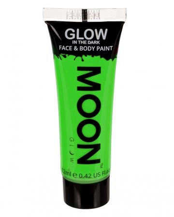 Glow In The Dark Make-up Neon Green