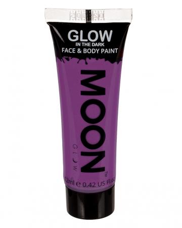 Glow In The Dark Make-up Purple