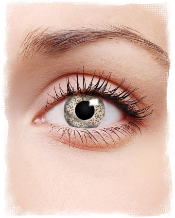 Contact Lenses Gold Shimmer