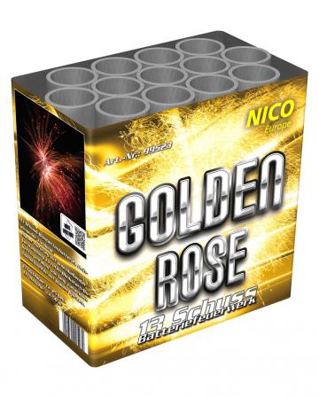 Golden Rose 13 Shots Battery Fireworks