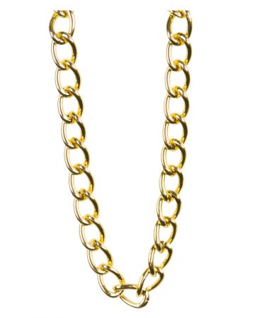 Golden Rapper Chain 100cm