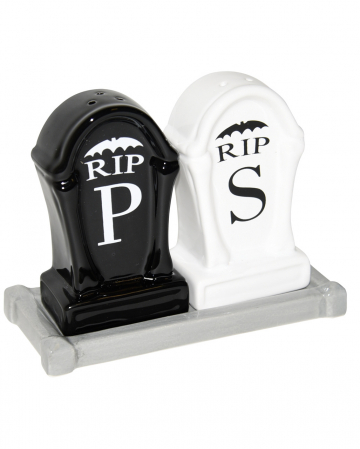 Gravestone Salt & Pepper Shaker