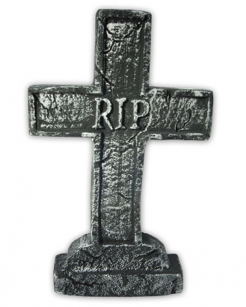 Gravestone Cross RIP