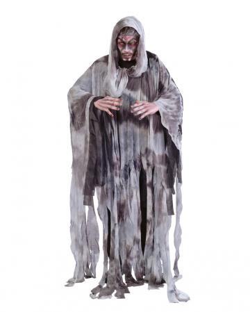 Graues Fetzen Gespenst Herren Kostüm One Size