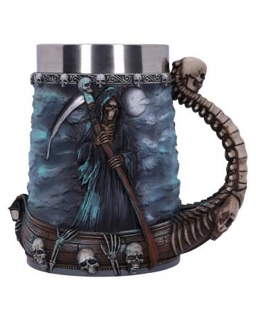 Grim Reaper Ferryman Jug