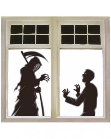 Sensenmann Fensterdekoration 76x120cm