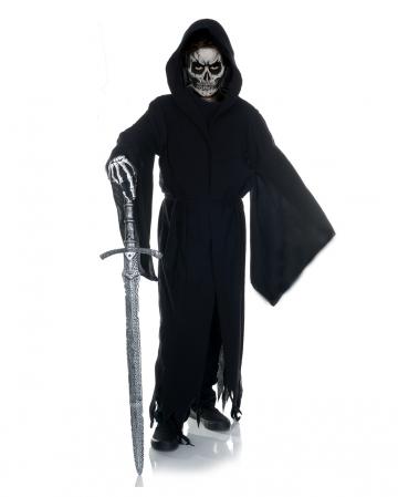 Grim Reaper Shred Costume For Children