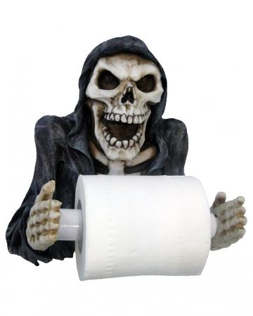 Sensenmann Toilettenpapierhalter 26cm