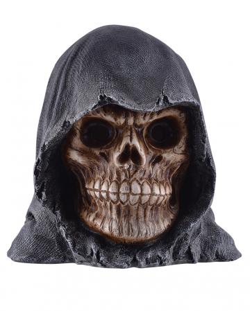 Grim Reaper Totenkopf mit leuchtenden Augen