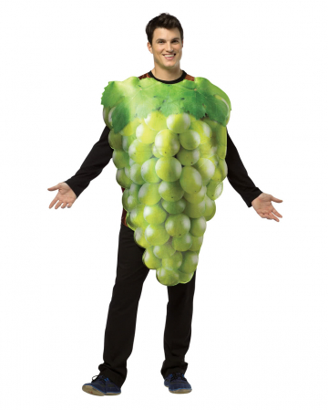 Wine grapes costume green