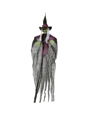 Scary Witches Hanging Decoration 140 Cm