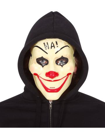HA! Clown PVC Half Mask