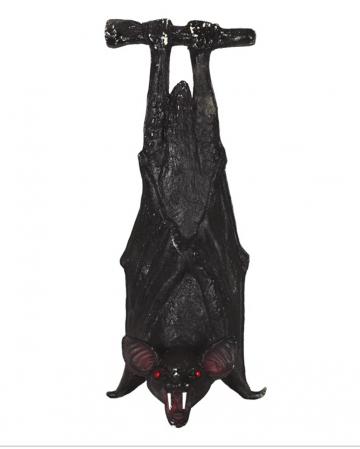 Hanging Bat Halloween Decoration 23cm