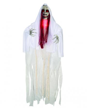 Geister Hängefigur mit Beleuchtung 100cm