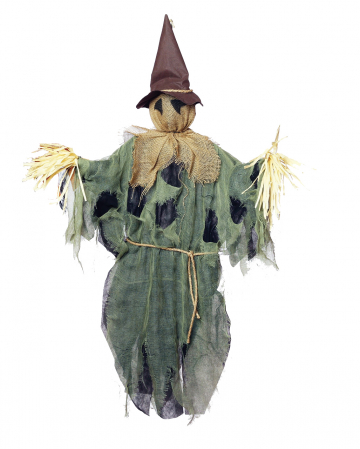 Hanging Scarecrow Green
