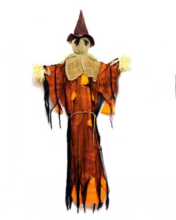 Orange Vogelscheuche Hängend 150 cm