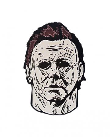 Halloween 5 Michael Myers Brosche