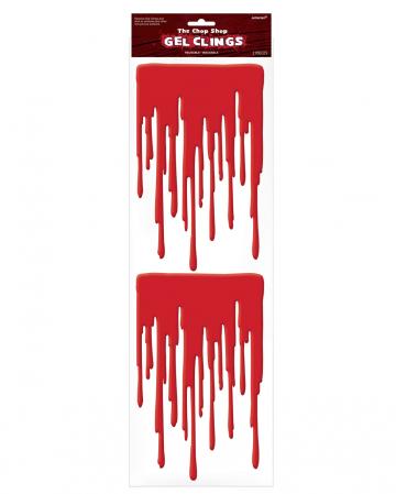 Halloween Window Blood Sticker 2 Pcs.