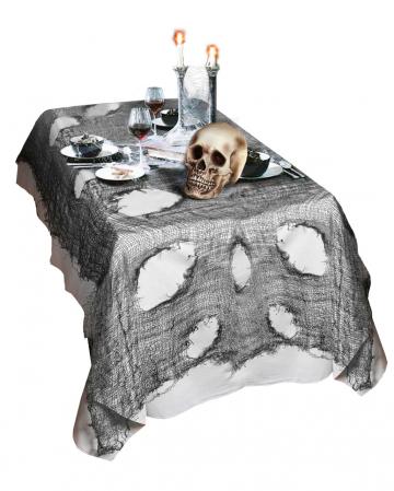 Halloween Lumpenstoff Schwarz
