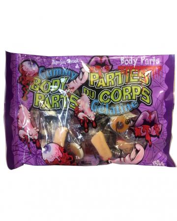 Halloween Fruit Gum Body Parts