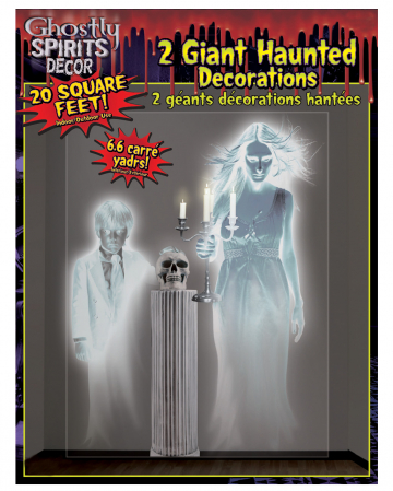 XXL Ghost Wall Foil 120x160 Cm