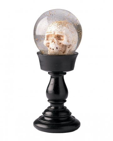 Halloween Crystal Ball With Skull