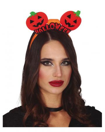 Kürbis Halloween Haarreif mit LED