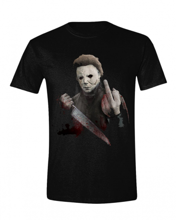 Halloween - Michael Myers Middle Finger T-Shirt