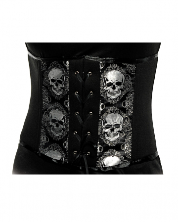 Halloween Bodice With Skulls
