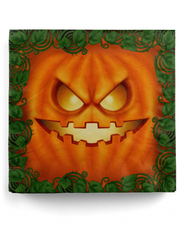 Halloween Pumpkin Party Napkins 20 Pieces