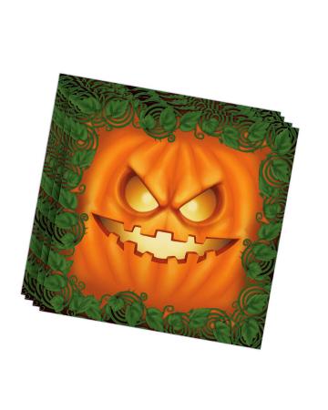 Halloween Pumpkin Party Napkins 20 Pieces