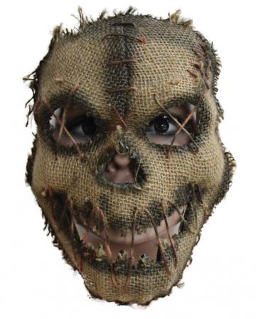 Halloween Scarecrow Half Mask