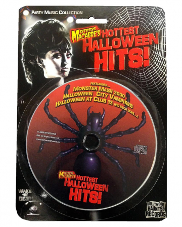 Halloween CD Mistress Macabre's Hottest Halloween Hits Dance Party