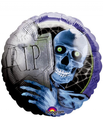 Foil balloon Creepy Bones