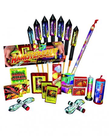 Hamsterkauf Raketen & Knaller Sortiment