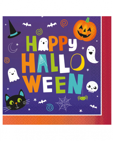 Happy Halloween Friends Napkins 16 Pcs.