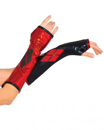 Harley Quinn arm warmers
