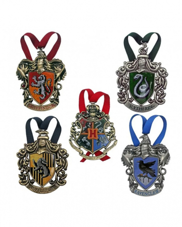 Harry Potter Hogwarts Houses Christmas Tree Decorations