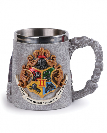 Harry Potter Hogwarts School 3D Becher