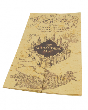 The Map Of The Marauder
