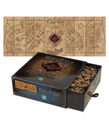 Harry Potter Map Of The Prowler Puzzle 1000 Pieces