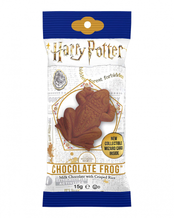 Harry Potter Chocolate Frog With Trading Card