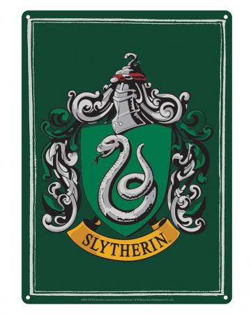 Harry Potter Slytherin Blechschild DIN A5