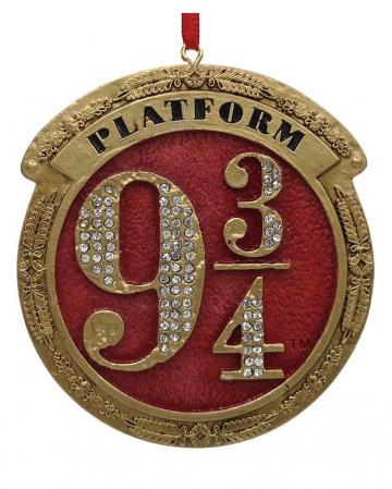 Harry Potter Plattform 9 3/4 Christbaumkugel