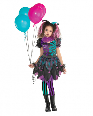 Haunted Harlequin Girl Costume