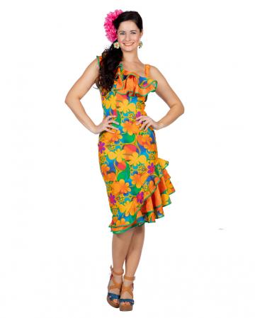 Hawaii Blüten Kleid