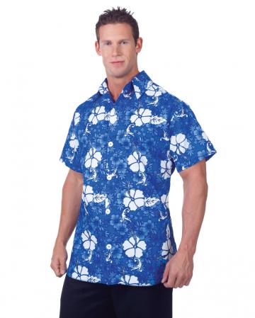 Blaues Hawaii Hemd