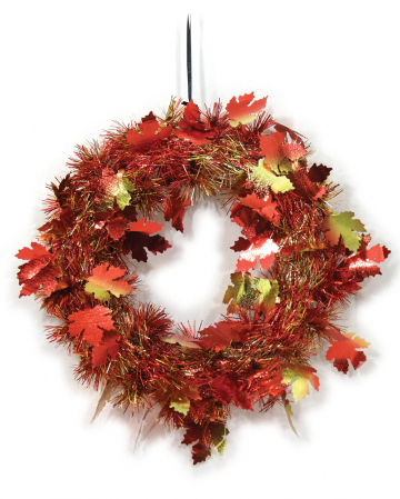 Autumn Leaves Door Wreath